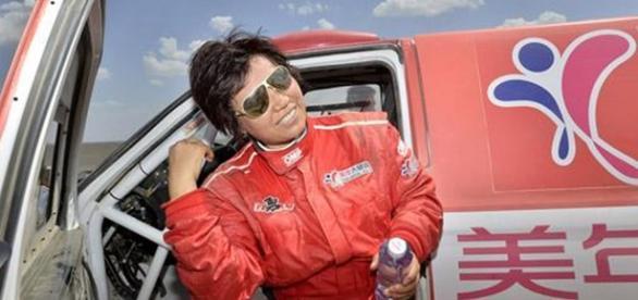 Guo Meiling, la primer piloto china en el Dakar