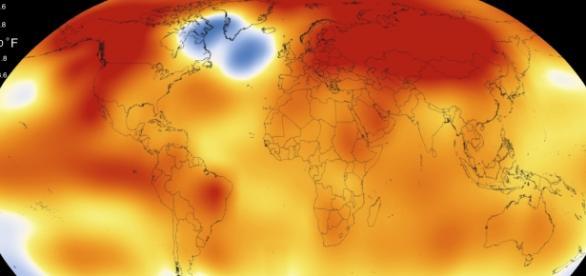 2015 fue el año más cálido desde 1880