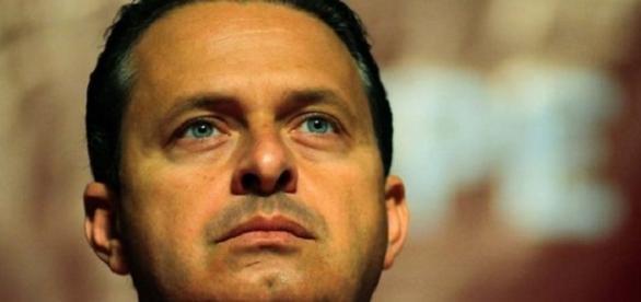 Eduardo Campos alguns dias antes do acidente