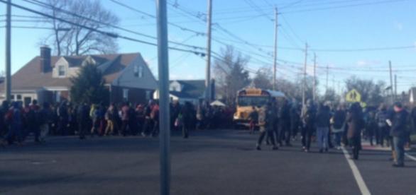 Escolas foram evacuadas após ameaças