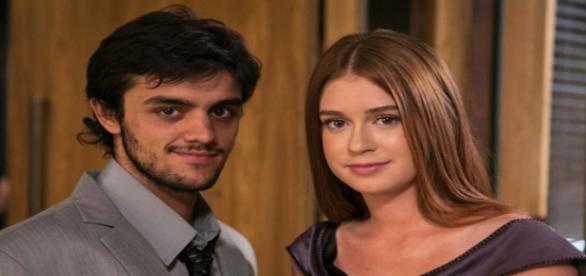 """Jonatas e Eliza em """"Totalmente Demais"""""""