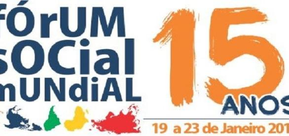 Logo oficial do Fórum Social Mundial