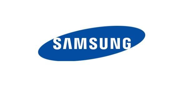 Logotipo de la marca coreana Samsung