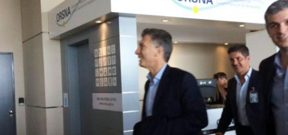 Macri ya está en Suiza buscando inversiones