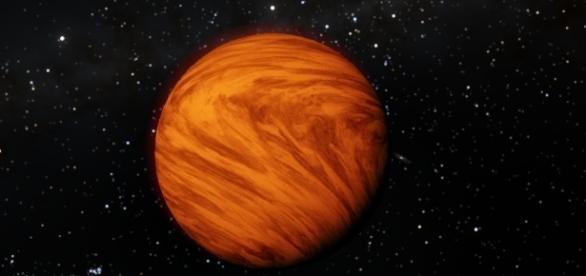 Planeta orbitando Próxima Centauri en SpaceEngine