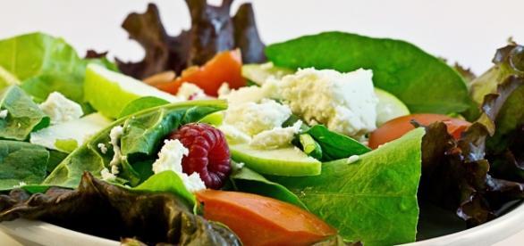 Zdrowa, zielona sałatka źródło pixabay.com
