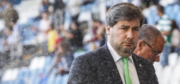 Bruno de Carvalho foi alvo de brincadeiras