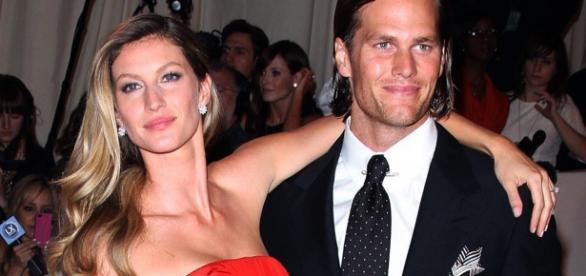 Gisele Bündchen e Tom Brady. Foto: divulgação.