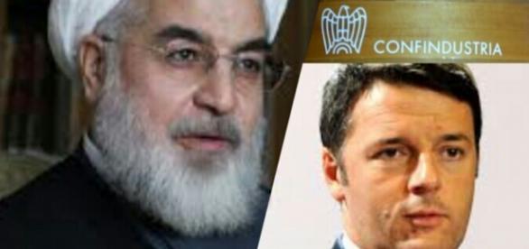 Il Presidente iraniano Rouhani in visita in Italia
