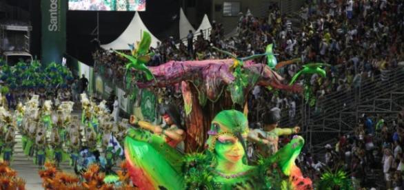 Parabéns cidade de Santos folia garantida