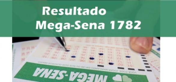 Resultado do jogo da Mega-Sena 1782