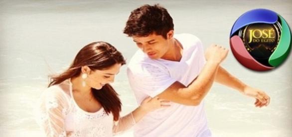 Ricky Tavares e sua namorada atriz