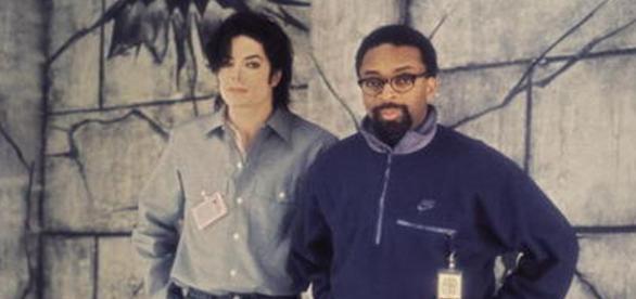 Spike Lee y Michael Joseph Jackson