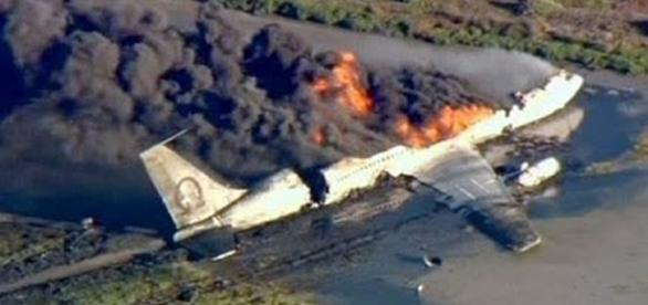 Surviving a plane crash? Google Images