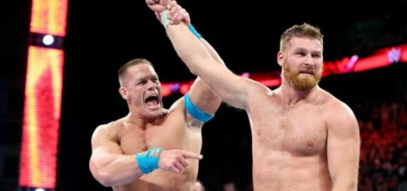 WWE's John Cena & Sami Zayn [via wwe.com]