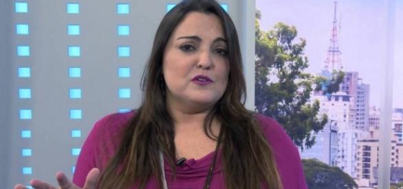 Fabíola Reipert - Foto/Reprodução: TV Record
