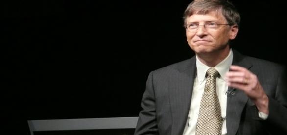 Imagen del empresario Bill Gates.