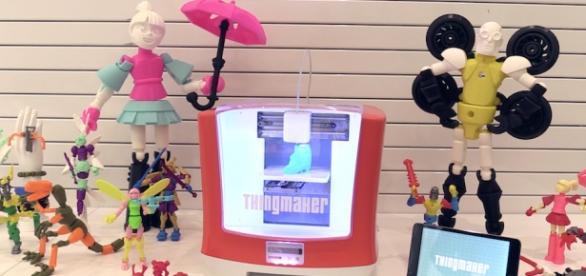 Impresora 3D para crear juguetes y accesorios