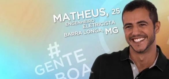 Matheus está fazendo sucesso na internet