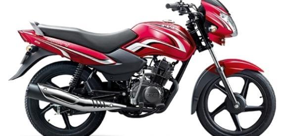 Moto india tsv 100 2016 con un consumo reducido