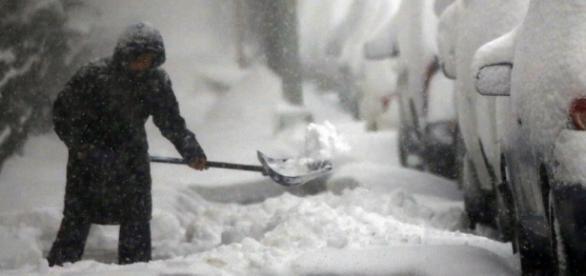 Así están las calles debido a la tormenta Jonas