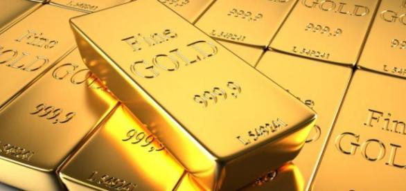 Aurul este considerat simbol al bogăției