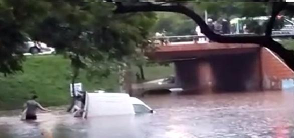 Estragos causados pela chuva na última sexta-feira