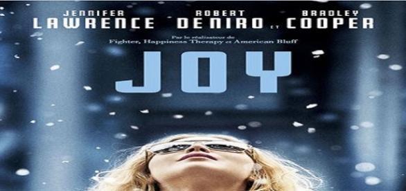 Joy: Vencedora do Globo de Ouro de Melhor Atriz.