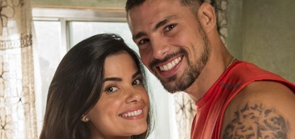 Tóia casa com Juliano e é sequestrada por Romero