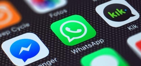 Whatsapp instalado en un iPhone
