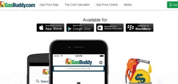 Aplicativo mostra preços de gasolina e roteiros.