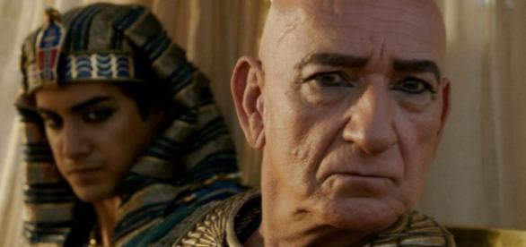 Faraó também ganha espaço na Globo