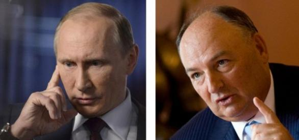 Moshe Kantor, judeu europeu, reúne-se com Putin