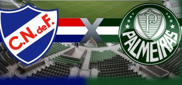 Palmeiras e Nacional final da Copa Antel