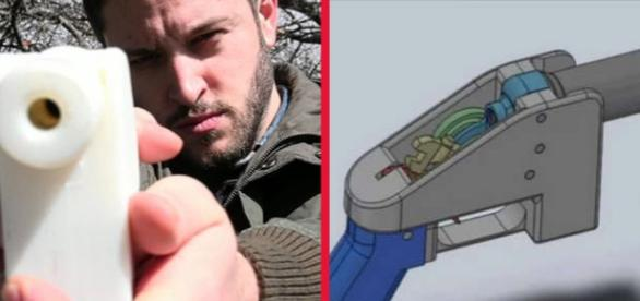 Wilson a costruit un pistol cu o imprimantă 3D