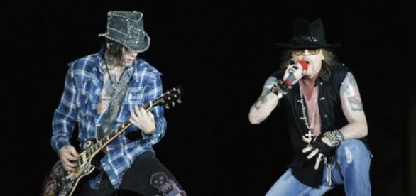 Ashba dejó Guns N' Roses en 2015