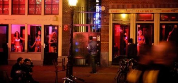 Cartierul Roșu din Amsterdam - Olanda