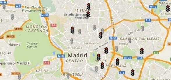 Controles de semáforos. Fuente: Ayto. de Madrid