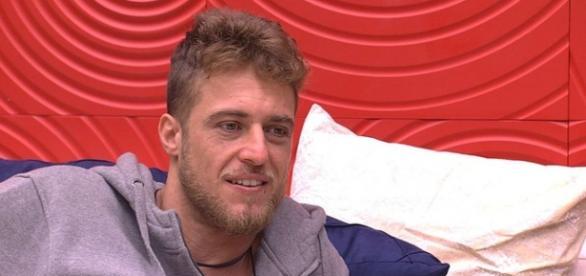 Daniel está no paredão (Reprodução/Globo)