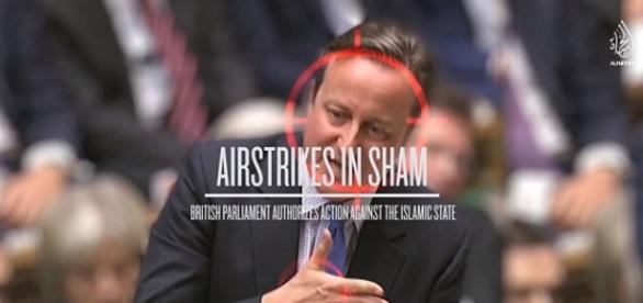 EI usou imagem de Cameron para ameaçar Reino Unido