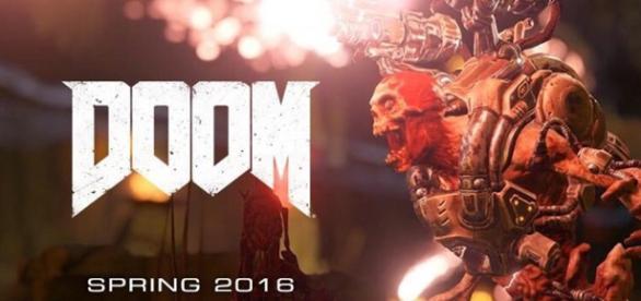Fondo de pantalla del próximo estreno de Doom.