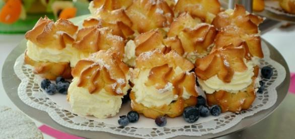 La crema pasticcera è ottima per preparare bignè
