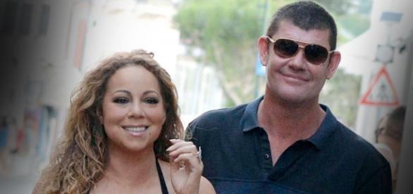 Mariah Carey e James Packer. Foto: Divulgação.