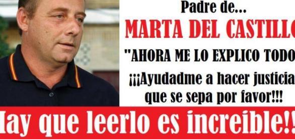 Padre de Marta pide ayuda en las redes.