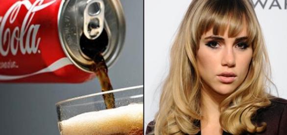 Atriz revela que lava os cabelos com Coca-Cola