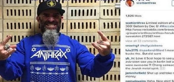 O último Hanukkah dos Anthrax pode sair caro.