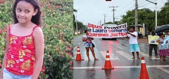 Laura Vitória, 9 anos e desaparecida há 17 dias