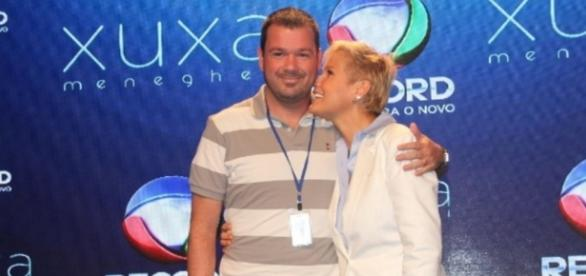Mariozinho Vaz e Xuxa - Foto/Divulgação: Record