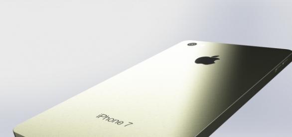 Posible forma del iPhone 7 de la compañía Apple