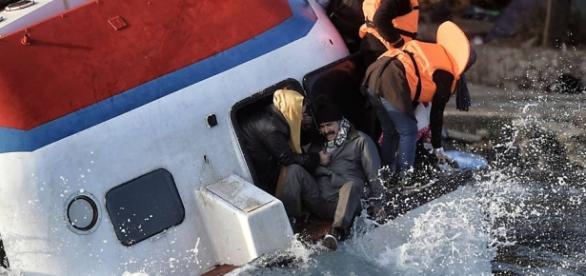 Resgate de um Naufrágio no mar Egeu